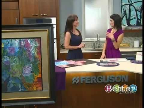 TAM STONE shares a clever way to Bring Master Artwork into Your Home (BETTER KC SHOW)