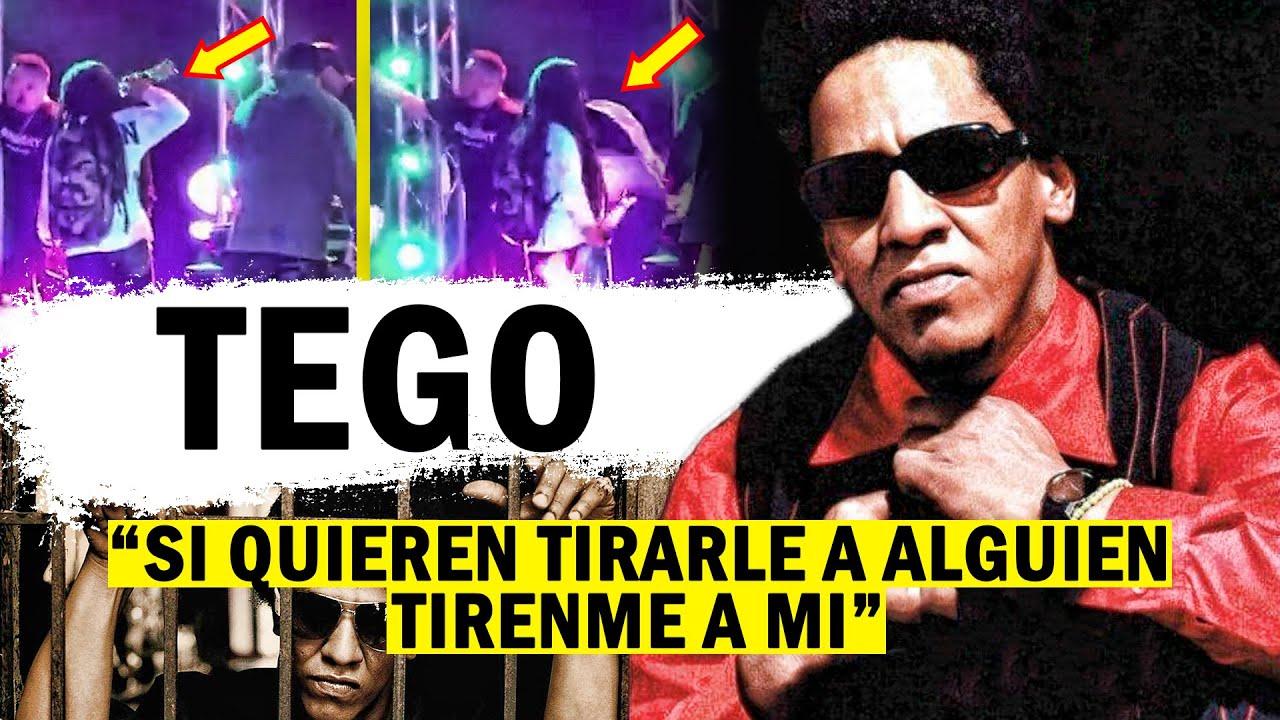 TEGO CALDERÓN   El Único HOMBRE que no le tuvo MIEDO a Héctor el FATHER • HISTORIA