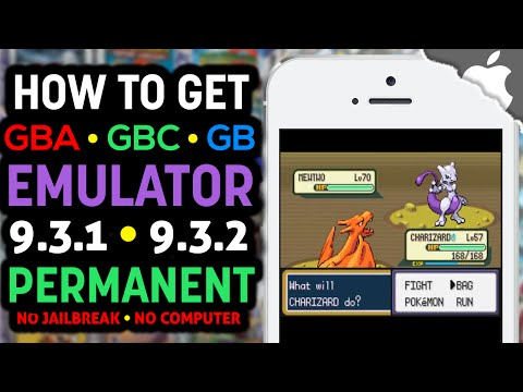 NEW! Play GBA4iOS a GBA, GBC, Gameboy EMULATOR on your iOS 9.3.1 & 9.3.2 Device FREE! (NO JAILBREAK)