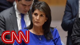 Haley to White House: I don