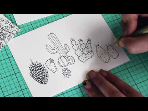 How To Doodle: Monsters, Sweets & Succulents