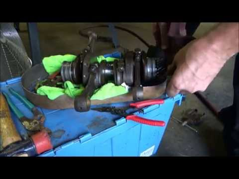 RB-VW Trike #81: Engine Case SPLIT for Distributor Drive Gear replacement!