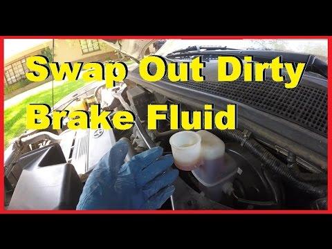 How To Replace Worn Dirty Brake Fluid Reservoir -Jonny DIY