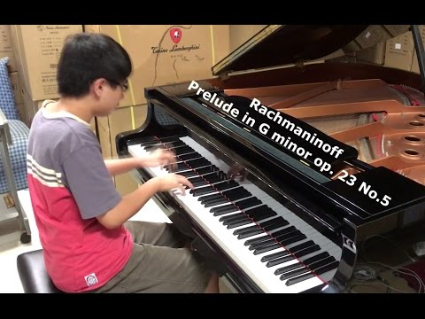 Rachmaninoff Prelude in G minor Op. 23 No.5