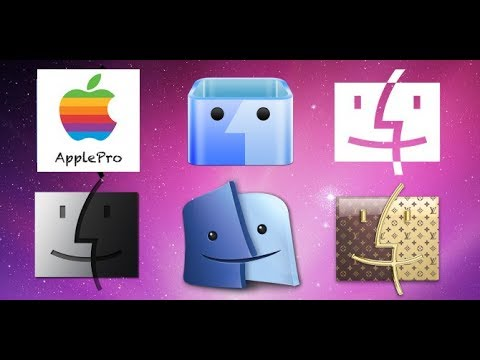 How to change folder icon mac