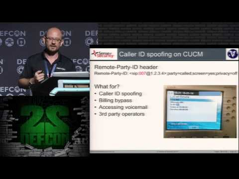 DEF CON 22 - Fatih Ozavci - VoIP Wars: Attack of the Cisco Phones