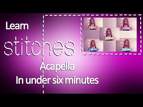 🎤 Acapella Tutorial - Learn