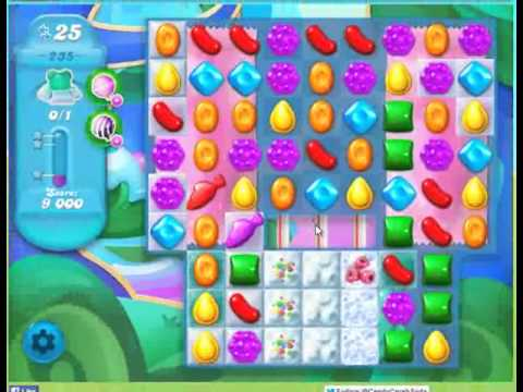 Candy Crush Soda Saga Level 235