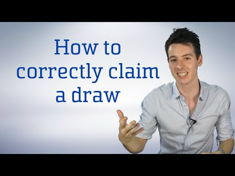How To Correctly Claim A Draw By Threefold Repetition | Chess Tips & Tricks