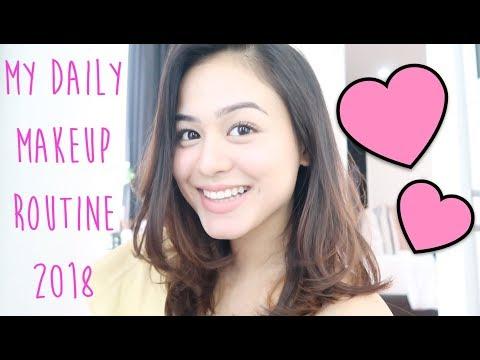 My Daily Makeup Routine 2018 || Caca Zeta