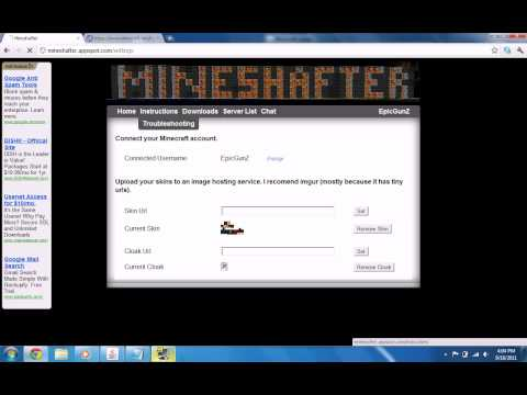 Free Minecraft account 1.8.1 and above IN DESCRIPTION!