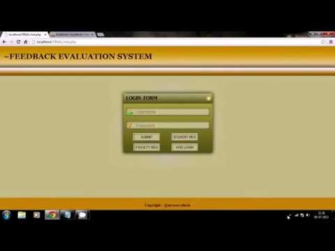 Using PHP and MySql to develop a web application