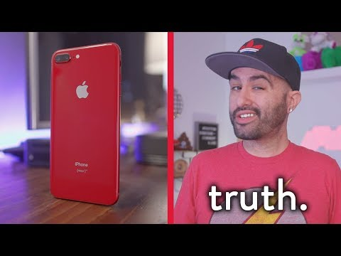 Review: The Truth Behind Apple's RED iPhone 8 Plus...