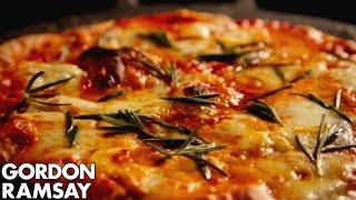 How to Make Margherita Pizza at Home - Gordon Ramsay