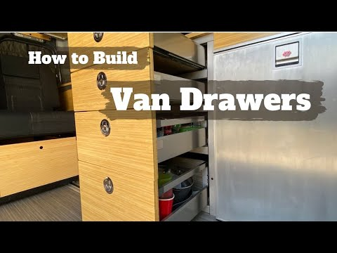 Easy Stainless Steel drawers for RV/campervans