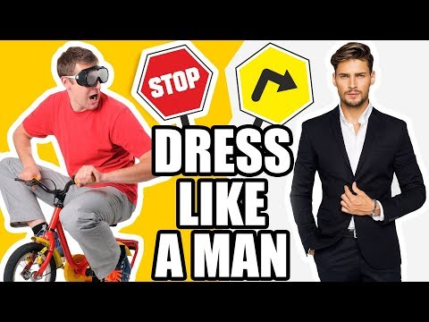 Guys...STOP Dressing Like A Child! 9 Men's Clothing Items That Make You Look Like A KID