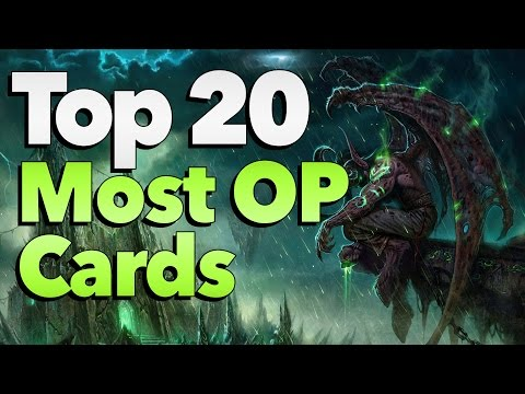 [Hearthstone] Top 20 Most Overpowered Cards in History