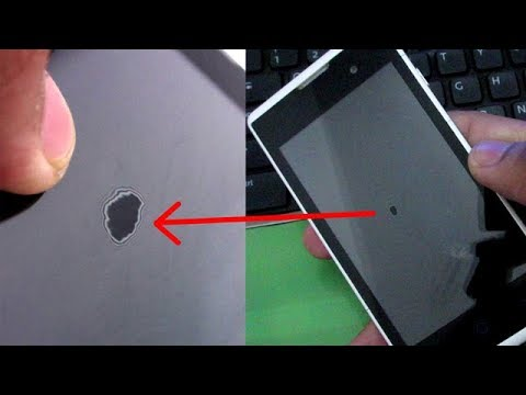 How to fix Water Stains of your mobile screen, Wet spot on display fix   LCD Screen Water Spots Fix
