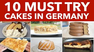 10 Traditional German Cakes, Authentic German Cakes and Pastries