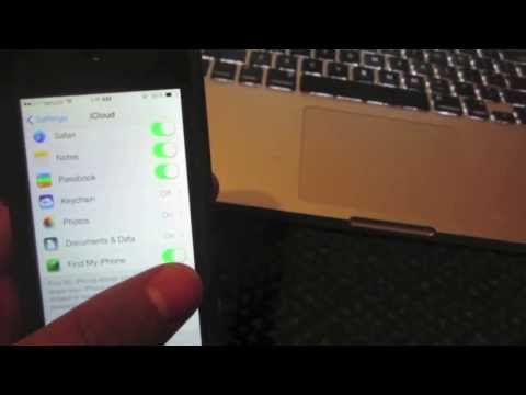 Turn Off iCloud Activation Lock Screen iOS 7.1.1 iPhone iPod Touch iPad