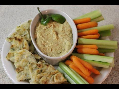 Jalapeno & Garlic Hummus - ThriftyChef - Ep.2