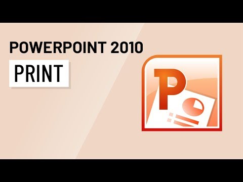 PowerPoint 2010: Printing