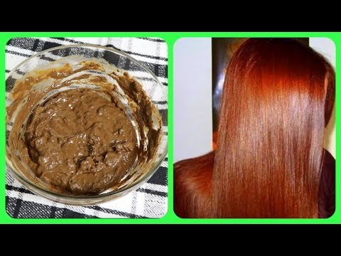 DIY Henna Pack For Getting Glossy Red Hair Colour & Deep Conditioning