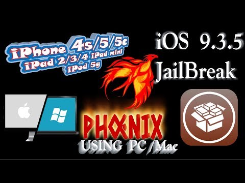 NEW How To JAILBREAK iOS 9.3.5 Using Computer  iPhone 4S , 5 , 5C , All 32Bit Device.