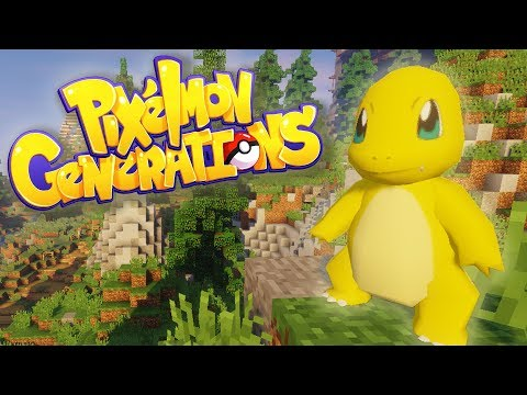 STARTING A NEW ADVENTURE! | Minecraft: Pixelmon Generations | Episode 1