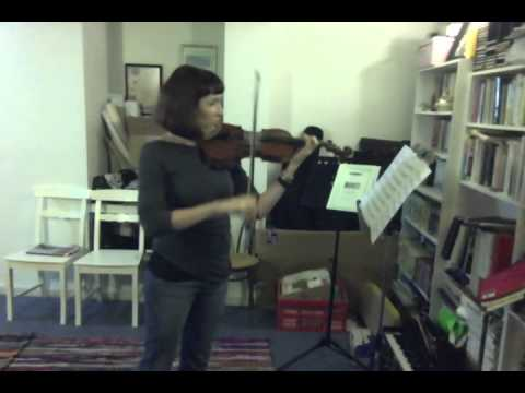 Take to the hills - violin - Mary Cohen (Chelsea)