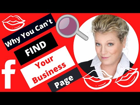 Why You Can't Find Your Facebook Business Page If It Is New