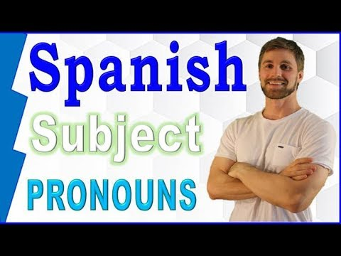 Learn Spanish Grammar - Subject Pronouns (Easy Spanish for Beginners)