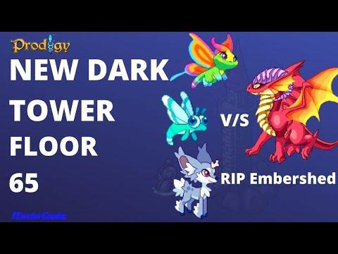 Embershed VS Ivory, Dreamlet & Flikflit::Deadly battle among 3 Monsters VS 1 Pet::Flr 65::Dark Tower