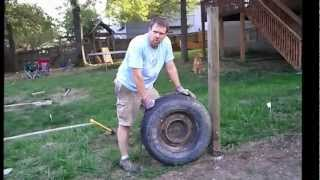 Easy way to pull / remove fence posts