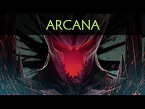 Dota 2 Terrorblade -  Fractal Horns of Inner Abysm (Arcana item)