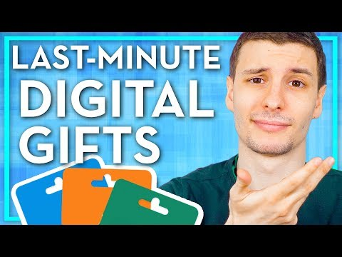 You Waited Too Long to Order Gifts So Here are Some Digital Ones