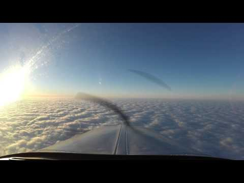 1,400 Miles in a Small Plane - Timelapse