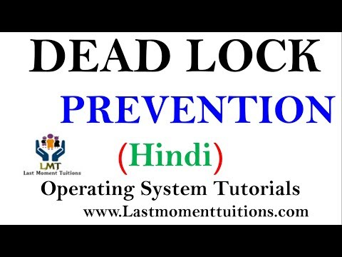 Deadlock Prevention Explained in Hindi | Operating system tutorials