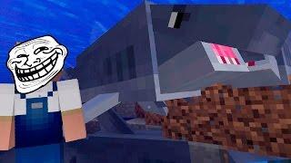 Minecraft: TUBARÃO TROLL | Afreim [ TrollCraft ]