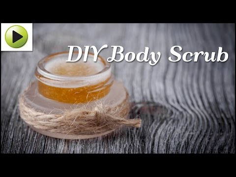 Natural Homemade Body Scrub
