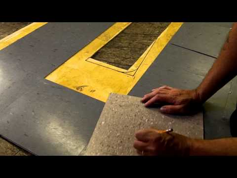How To Install VCT: Cutting Curves And Round Corners