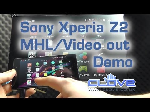Sony Xperia Z2 MHL/Video Out Demo