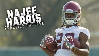 Watch Najee Harris and the Alabama running backs during day 1 of fall camp