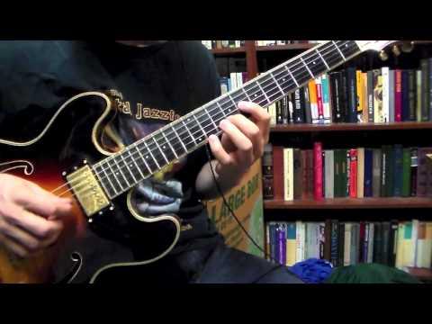 Jazz blues improv using flute effect