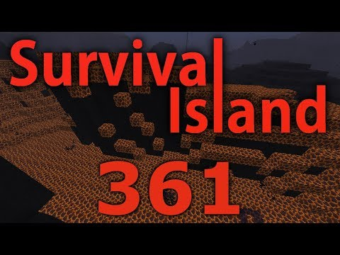 Minecraft- Survival Island [361] The MAGMA Moat