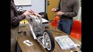 Auto-Balanced Robotic Bicycle