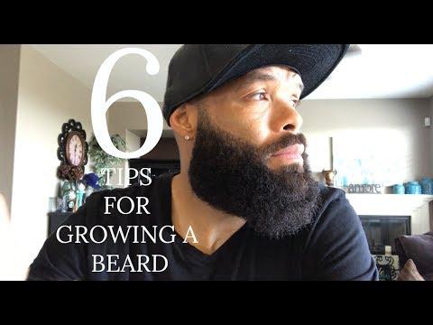 HOW TO GROW A BEARD | TOP 6 TIPS FOR GROWING A BEARD