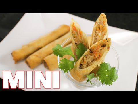 Crispy Spring Rolls (mini) - Hot Thai Kitchen!
