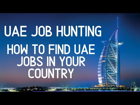 How To Do Job Hunting In DUBAI-UAE - Search or find a local recruiter!