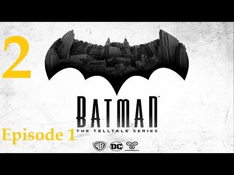 Batman - Telltale Game Series - Episode 1 - Realm of Shadows Walkthrough Part 2 [1080p HD]
